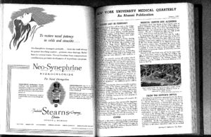 NYU Medical Quarterly, 1947