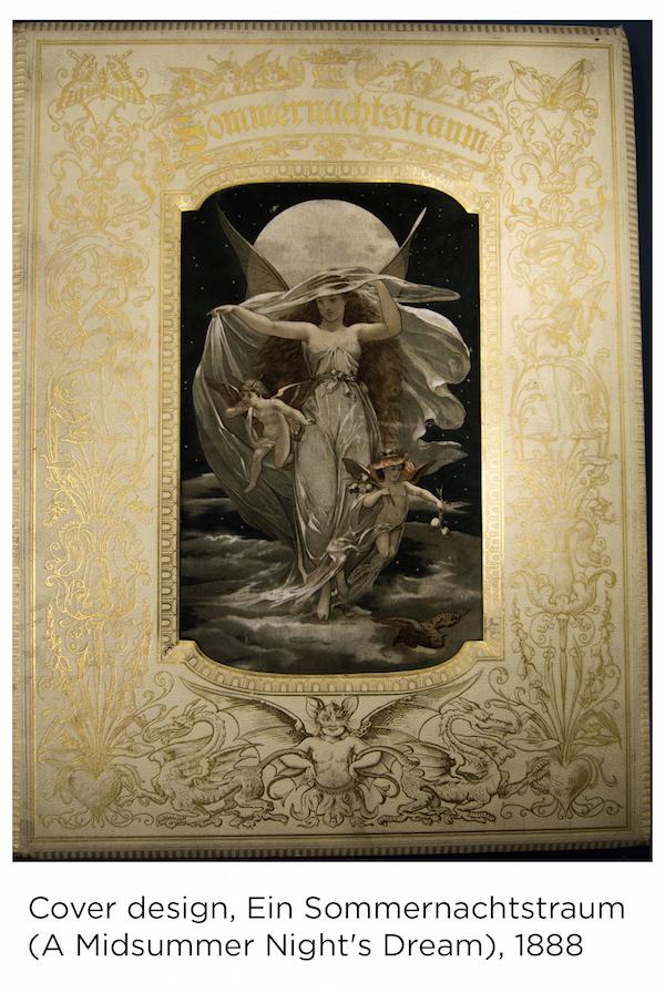 Cover design, Ein Sommernachtstraum (A Midsummer Night's Dream), 1888