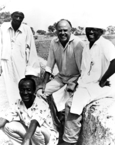 Jean Rouch and friends