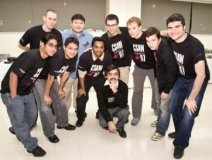 The CSAW team in 2007
