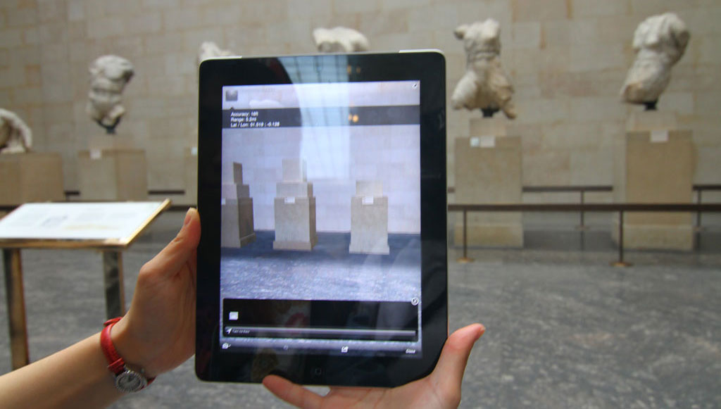 AR in the museum