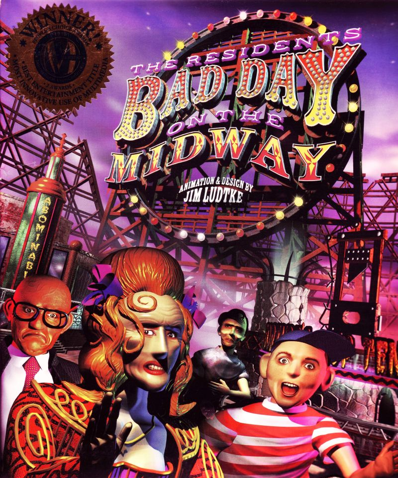 Box art from Bad Day on the Midway