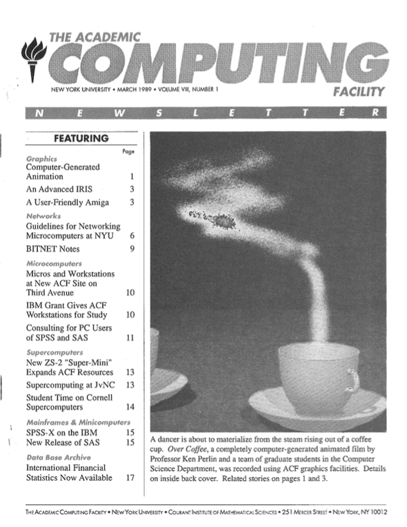 Connect cover, March 1989