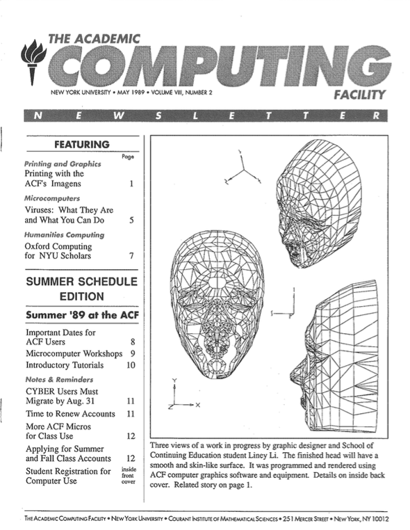 Connect cover, May 1989