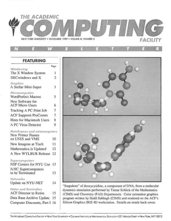 Connect cover, November 1989
