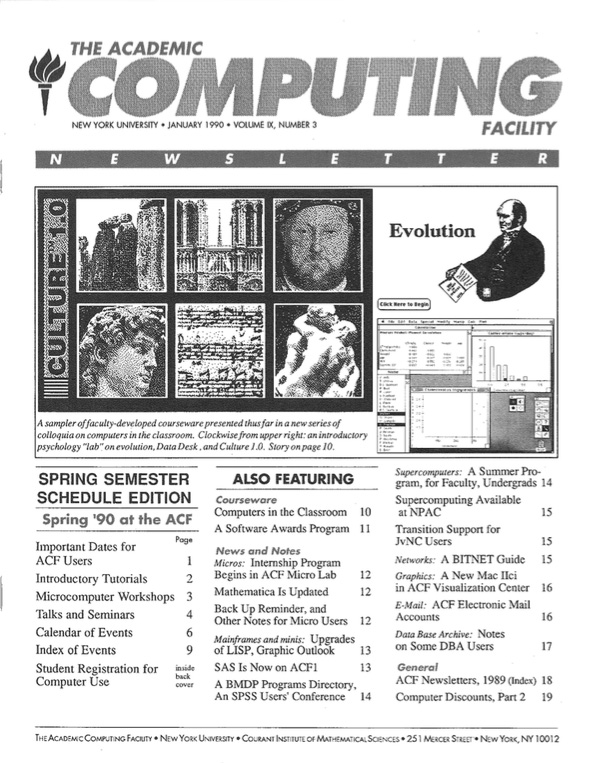Connect cover, January 1990