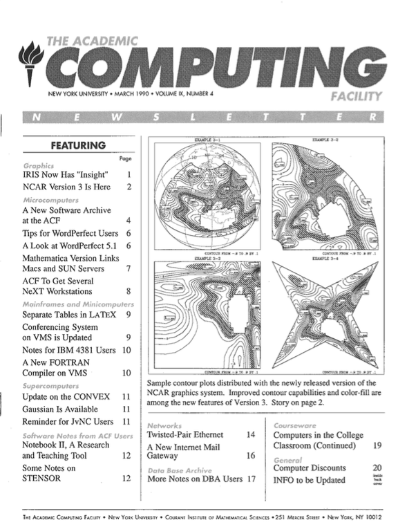 Connect cover, March 1990