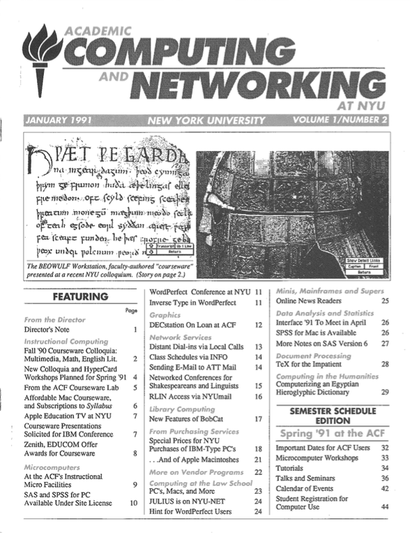 Connect cover, January 1991