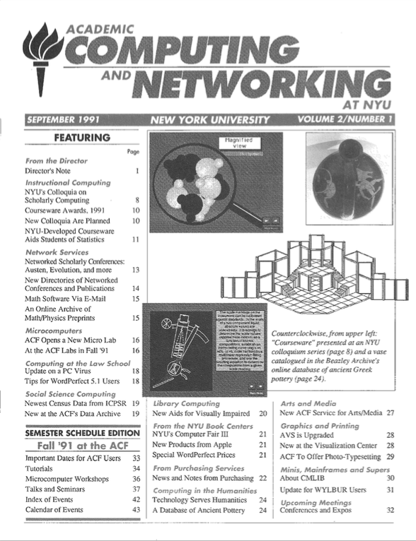 Connect cover, September 1991
