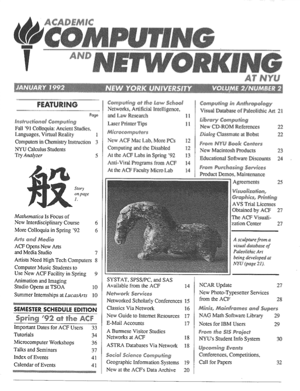 Connect cover, January 1992