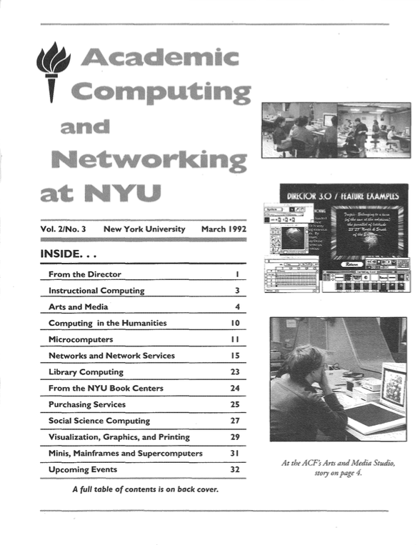 Connect cover, March 1992