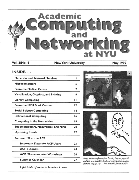 Connect cover, May 1992