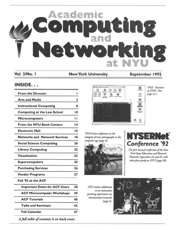 Connect cover, September 1992