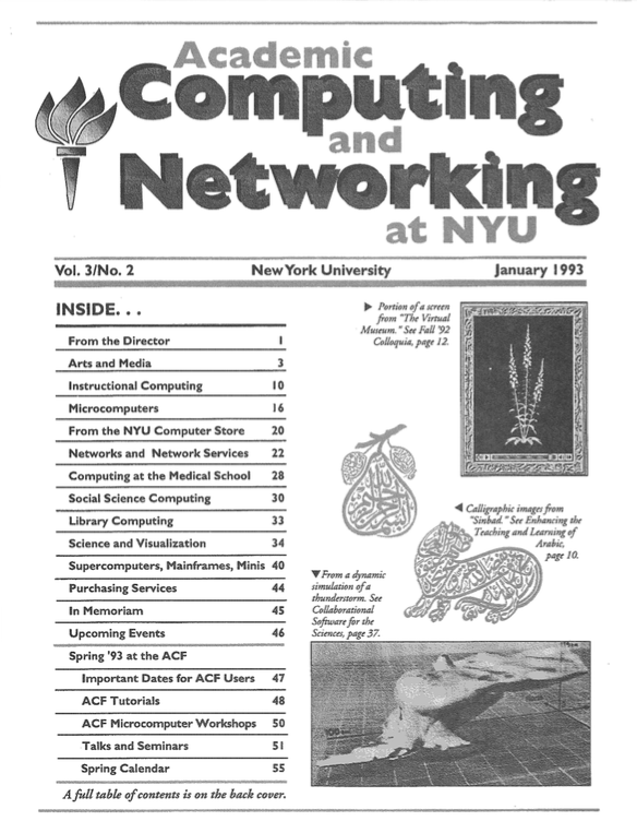Connect cover, January 1993