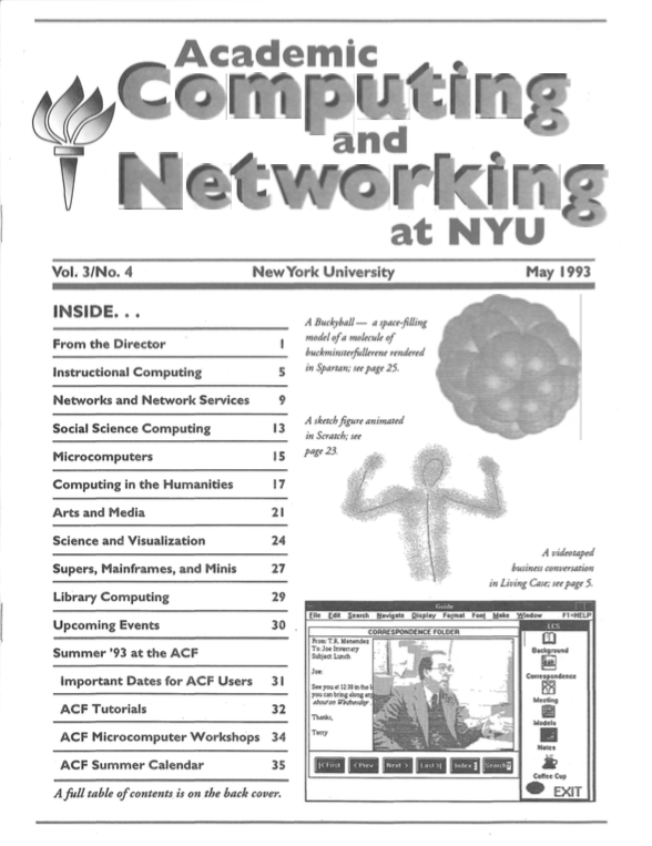Connect cover, May 1993