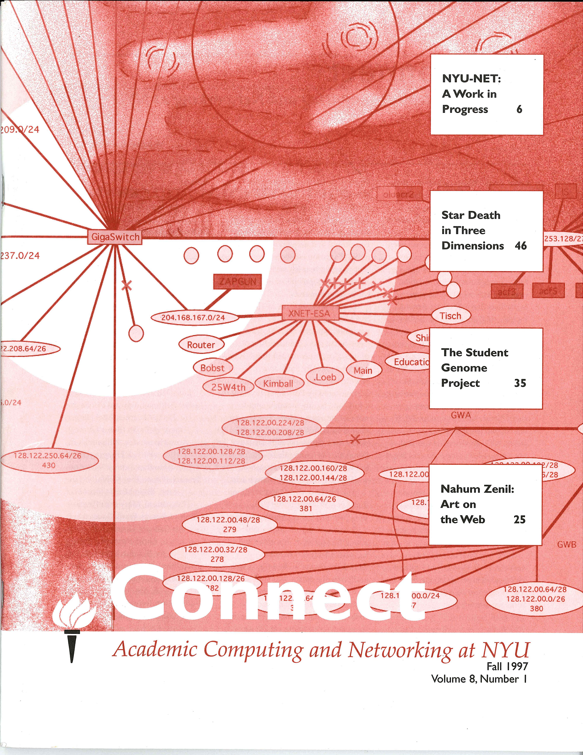 Connect cover, fall 1997