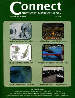 Connect cover, fall 2002