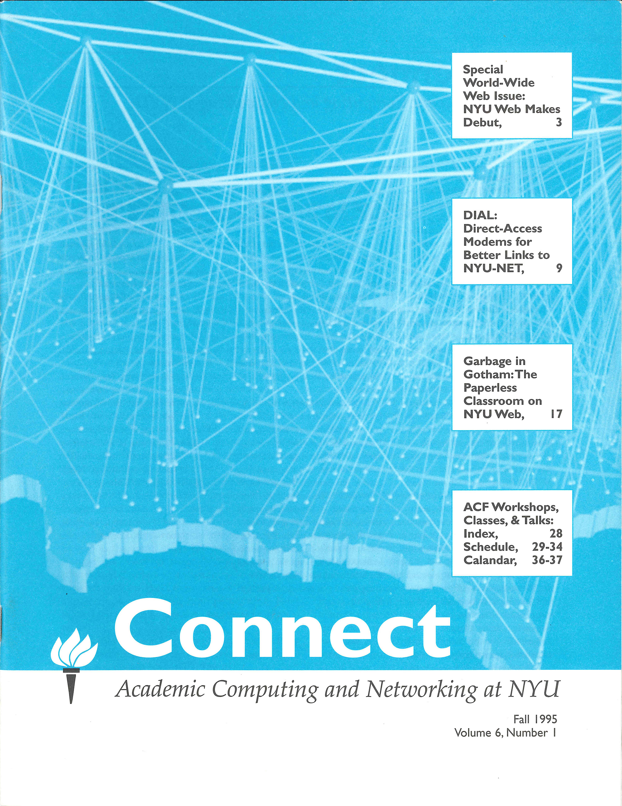 Connect cover, Fall 1995