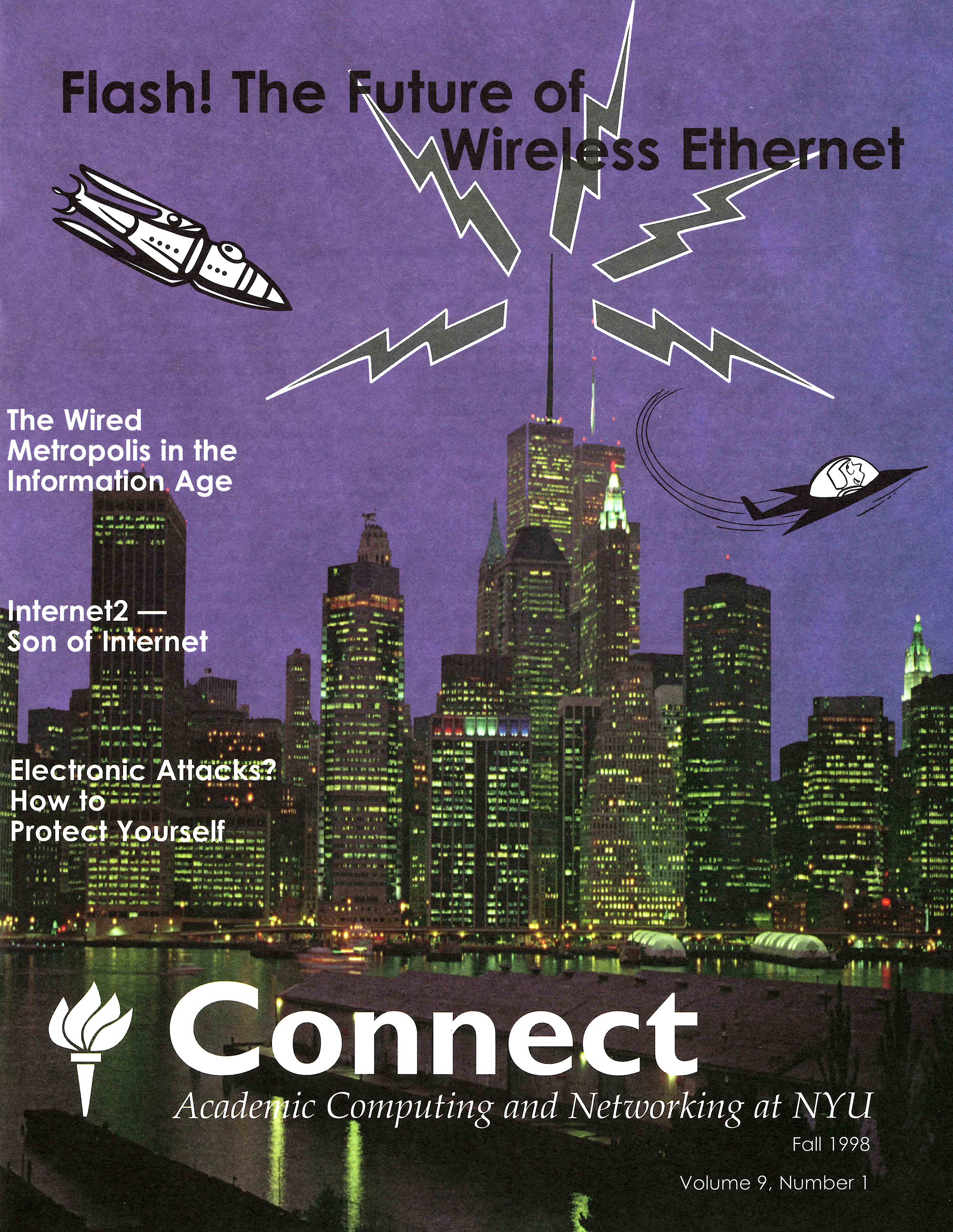 Connect cover, Fall 1998