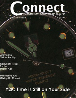 Connect cover, fall 1999