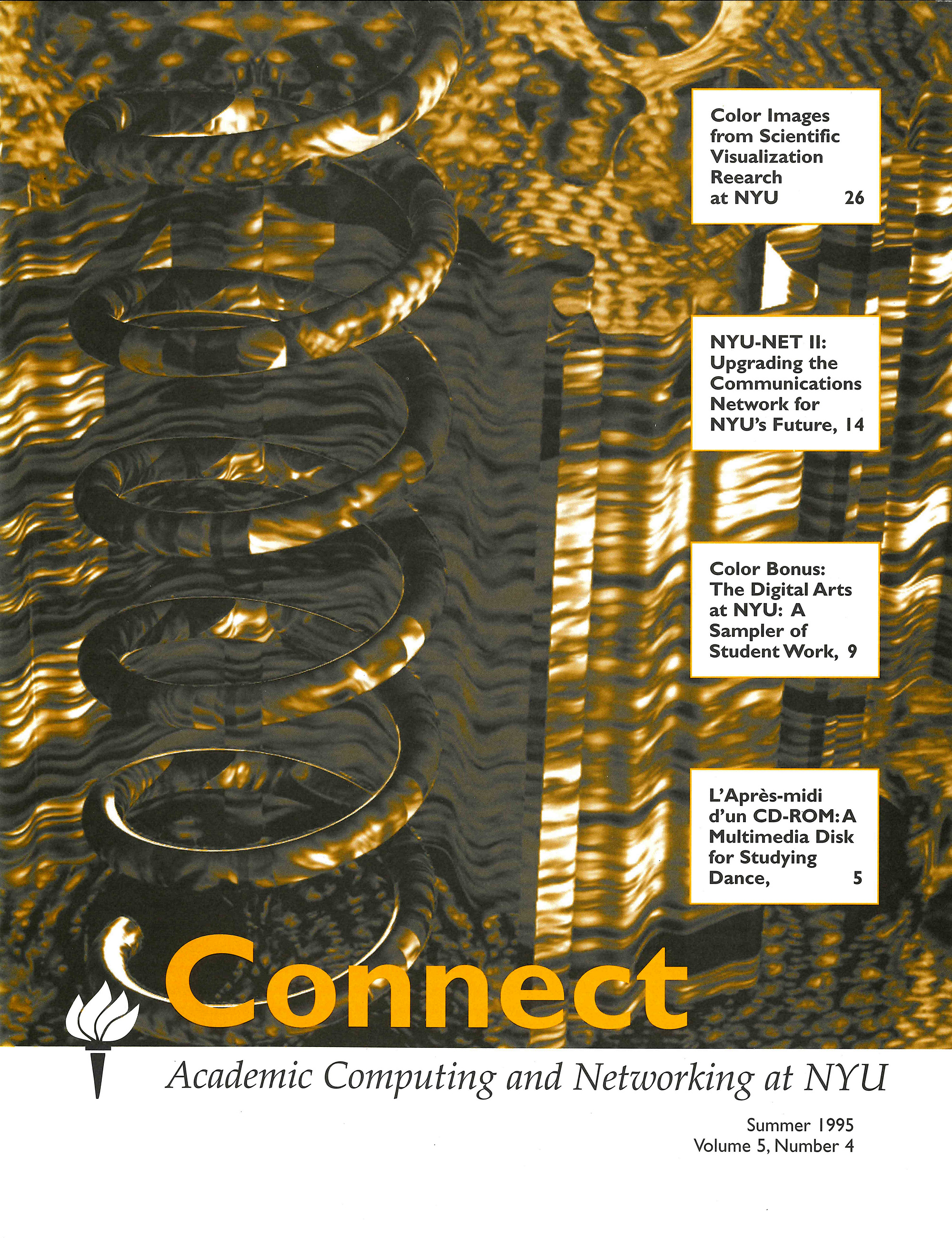 Connect cover, Summer 1995