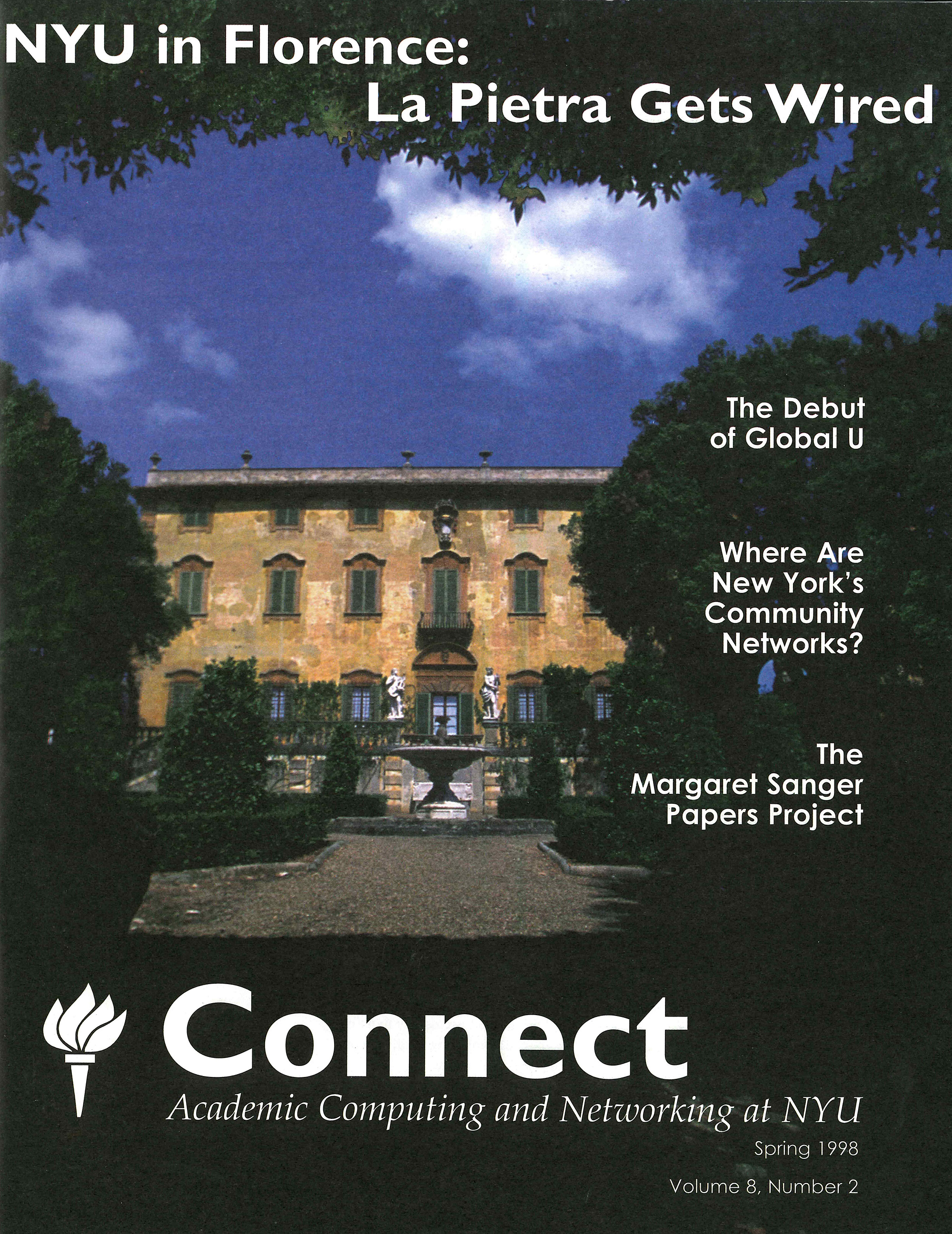 Connect cover, spring 1998