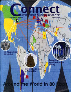 Connect cover, spring 2000