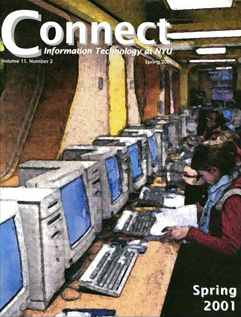 Connect cover, spring 2001