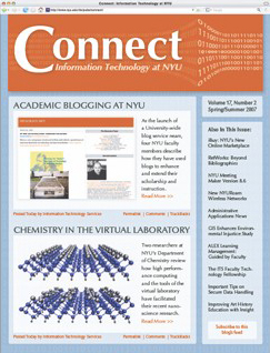 Connect cover, spring 2007