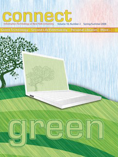 Connect cover, spring 2008
