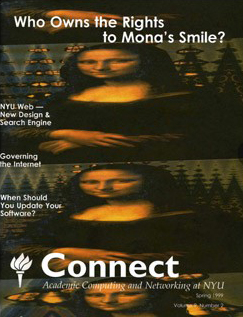 Connect cover, spring 1999