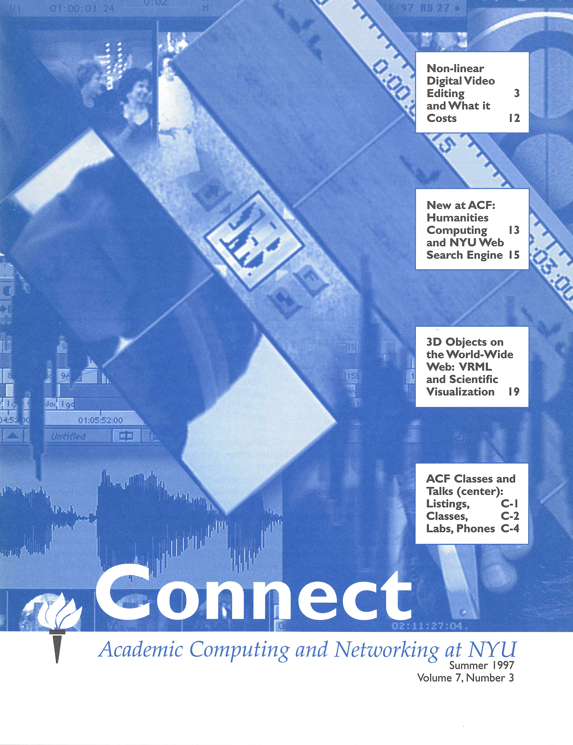 Connect cover, summer 1997
