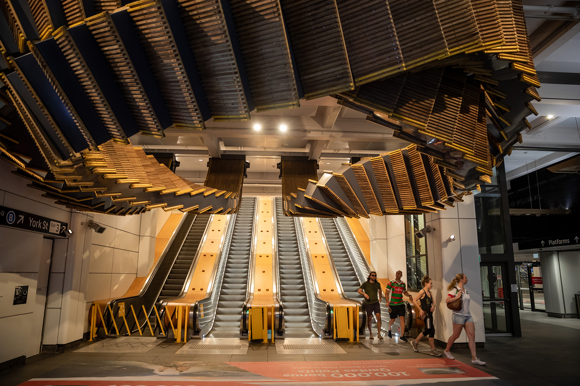 Wynyard Train Station in Sydney
