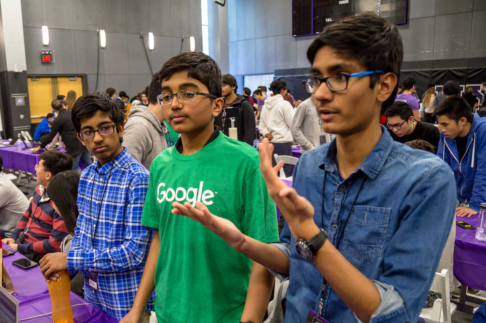 HackNYU's high school participants