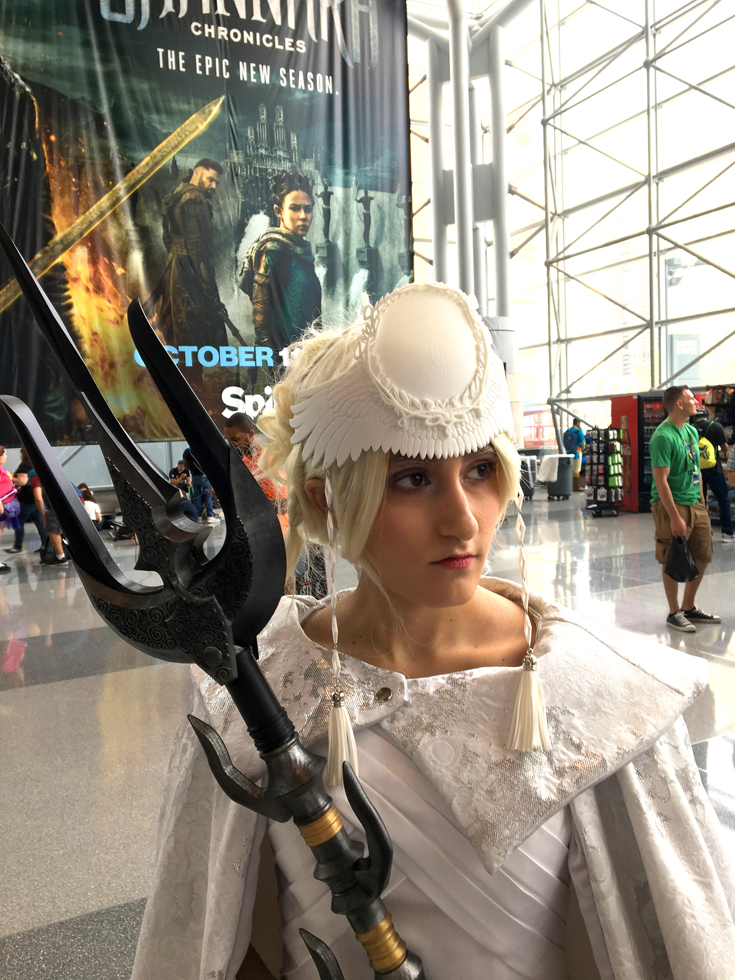 Sarah Awad as Luna from Final Fantasy XV