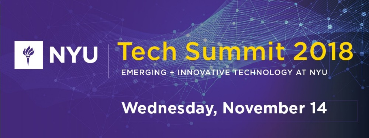 NYU Technology Summit promo
