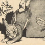 Illustration of a rabbit, taken from one of the books in the Arabic Collection Online