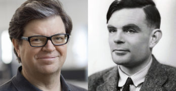 profile photos of Yann LeCun and Alan Turing