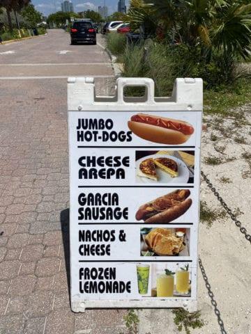 Miami beachgoers' top picks. [Courtesy: Maria Olloqui]