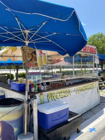 Hobie Beach's infamous hot dog stand. [Courtesy: Maria Olloqui]