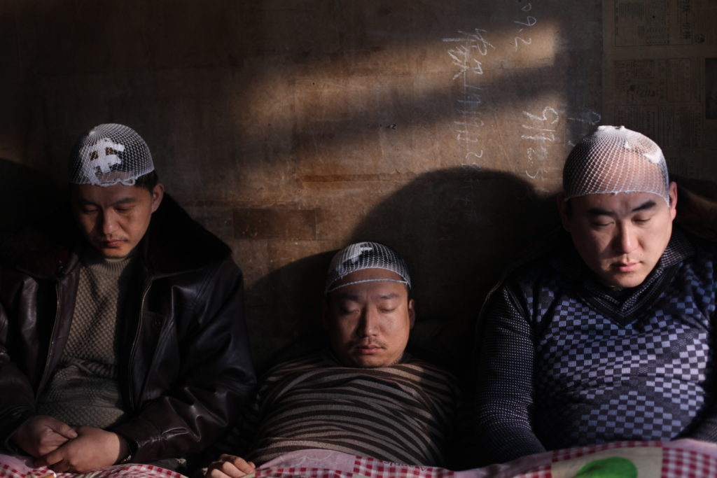"Still from ""Hammer and Sickle Are Sleeping"" by Geng Jun"