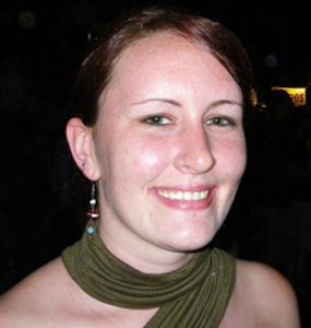 CSHO Ph.D. student Sandra Winters