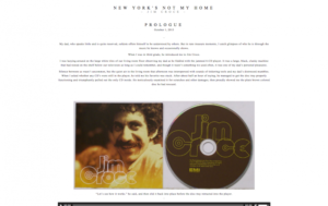 """New York's Not My Home: Jim Croce"" by Chelsea Wan"