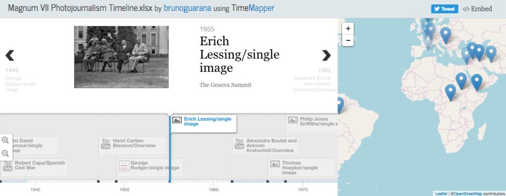 TimeMapper screenshot