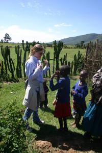 A break from research in Kenya