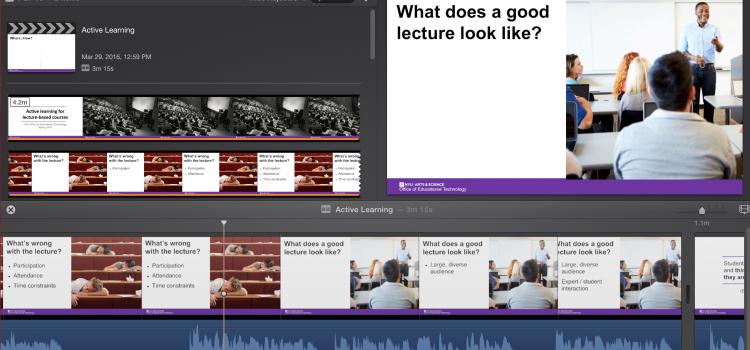 [Workshop] Creating Short Educational Videos