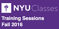 Fall 2016 NYU Classes Update