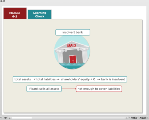 Macroeconomics module screenshot