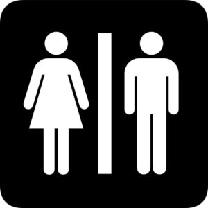 What Can Bathroom Signs Tell Us