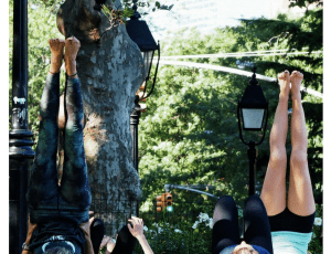 Weekday Summer Mornings: Free Fitness Classes in Washington Square Park